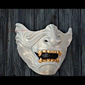 Half samurai mask